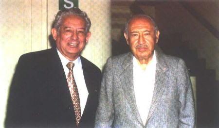 Eleazar Valverde y Mario Cavagnaro